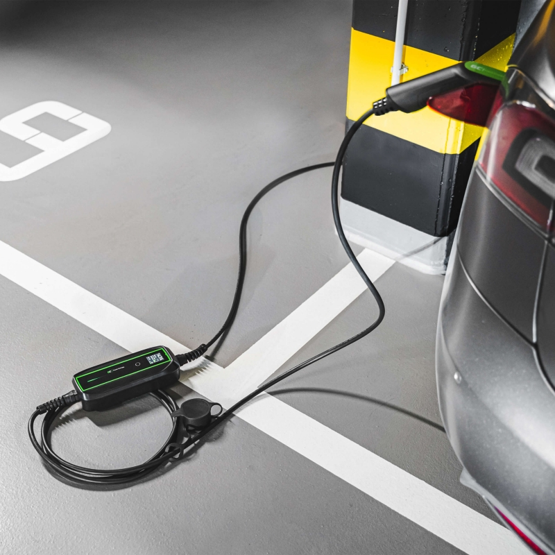 Leaf 5 m i3 ID.3 e-208 Green Cell/® GC Type 2 Kabel f/ür EV Elektroautos PHEV 7.2 kW Kompatibel mit Tesla Model 3 // S // X E-Tron ZOE 1-Phasen Fortwo 32 A Kona Typ 2 auf Typ 2 e-Golf